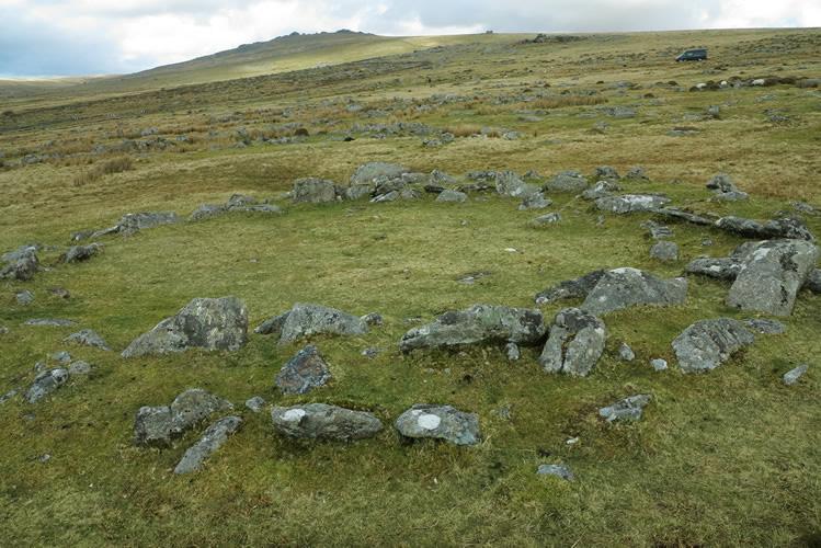 Merrivale hut circle